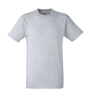 Camiseta algodón Heavy T Heather Grey