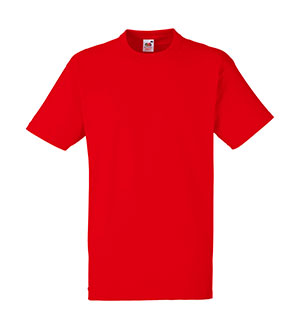 Camiseta algodón Heavy T Red