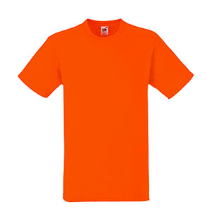 Camiseta algodón Heavy T Orange