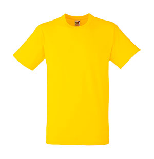 Camiseta algodón Heavy T Yellow